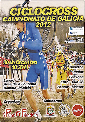 Cartel Ciclocross Domaio 30 Dec 2012